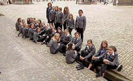 Mädchenkantorei im Bächle