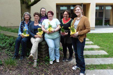 Die am 4. April 2017 gewählte Mitarbeitenden-Vertretung von IN VIA Freiburg