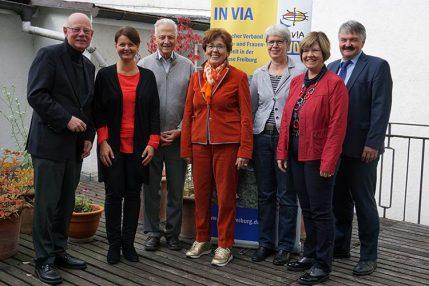 Verbandsrat von IN VIA Freiburg