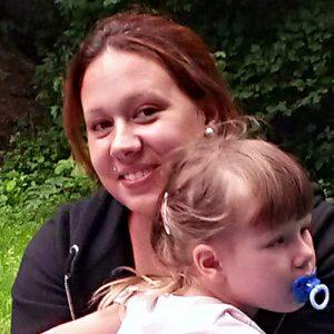 Teilnehmerin mit Tochter aus dem Projekt GINA