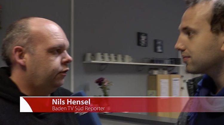 Philipp Spitczok von Brisinski (links) im Interview